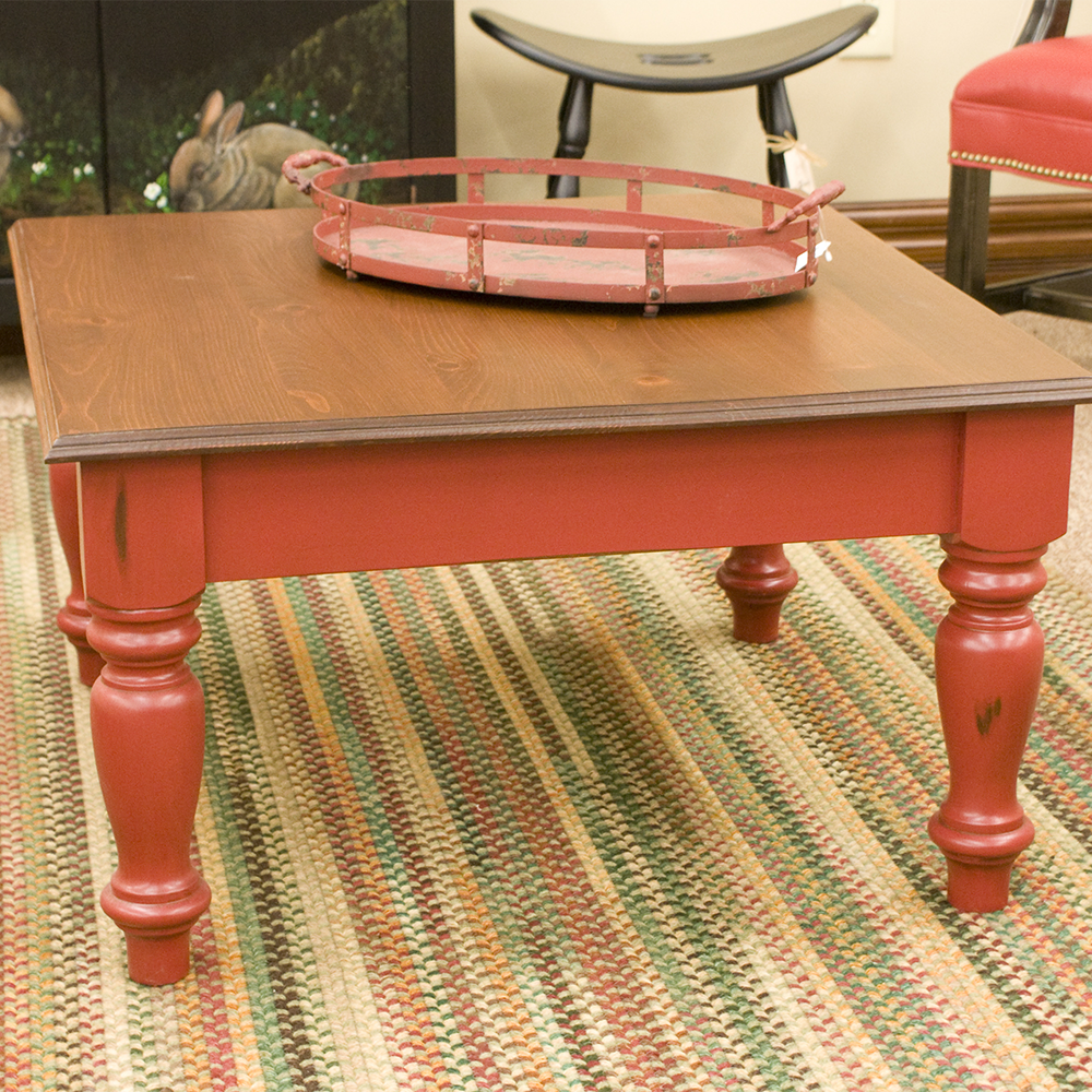 Coffee Table Legs can match other table legs in the room or stand alone.