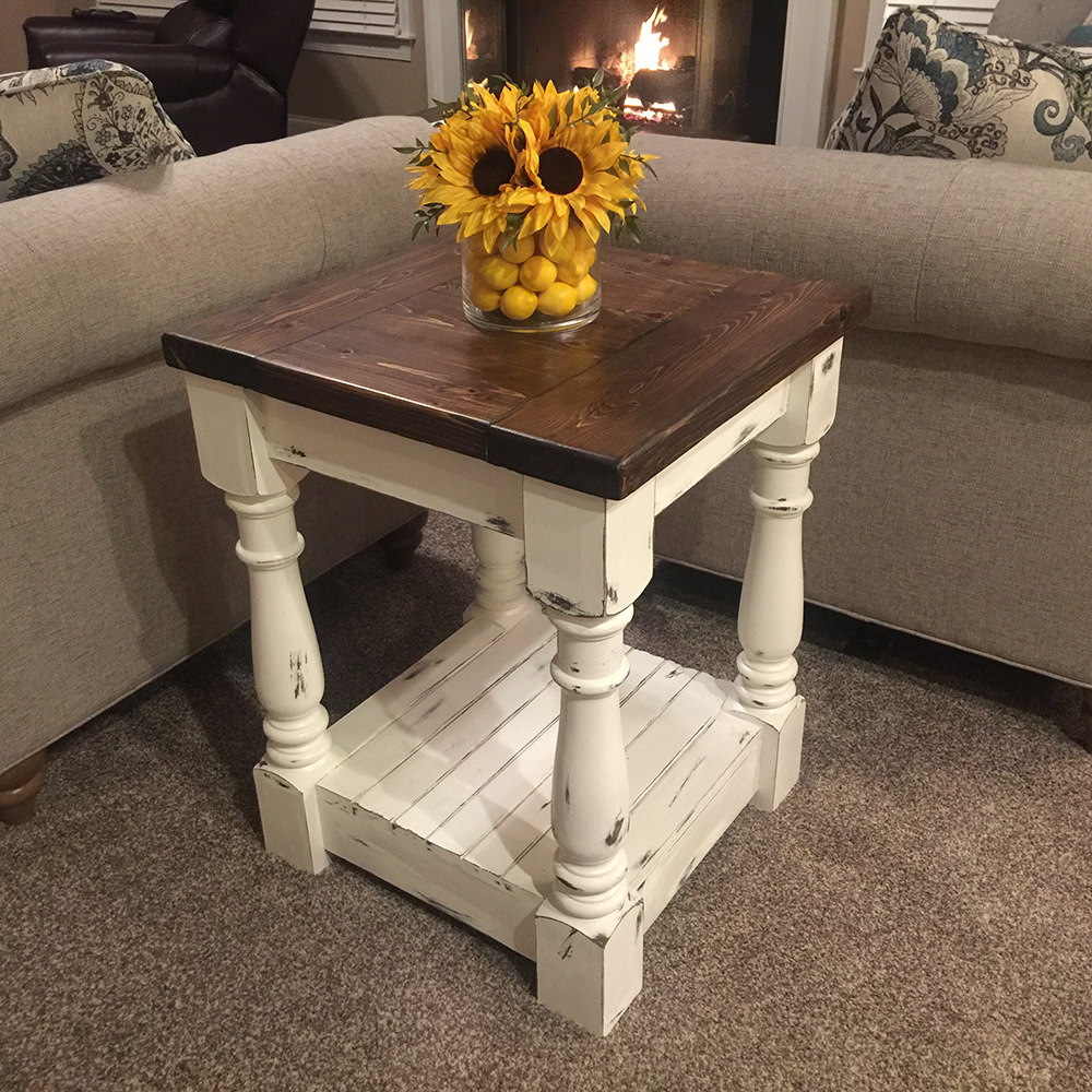 End Table Legs can match other table legs in the room or stand alone.