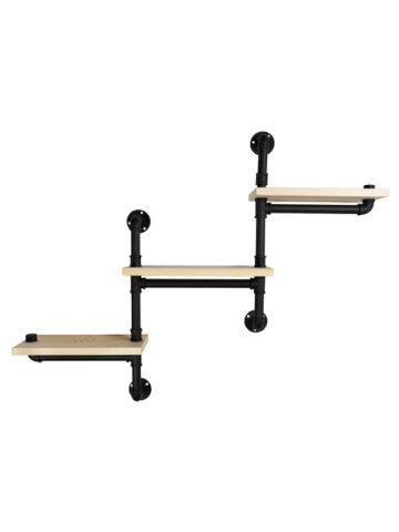 3-Tier Pipe Shelf