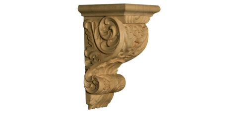 Baroque Corbel with Acanthus Leaves