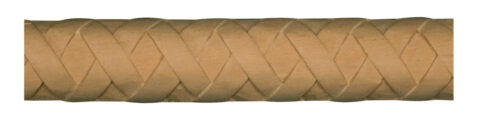 Basket Weave Half Round Moulding