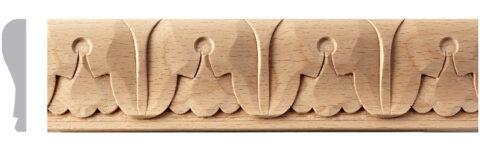 Carved Acanthus Leaf Moulding