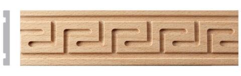 Carved Greek Key Moulding