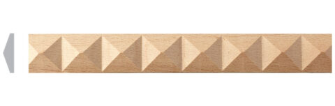 Carved Pyramid Moulding
