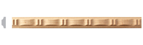 Carved Ribbon Flat Moulding