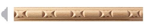 Carved Wood Moulding 4ft