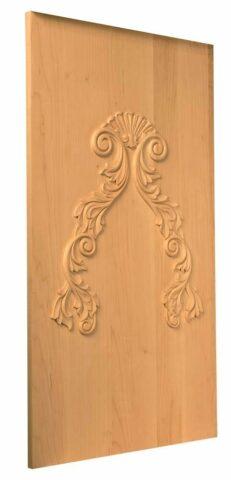 Classic Swirl Cabinetry Panel