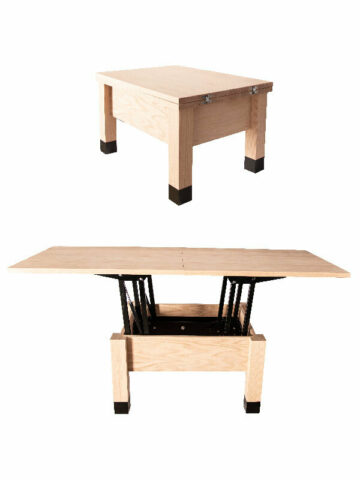 Coffee to Dining: Convertible Table