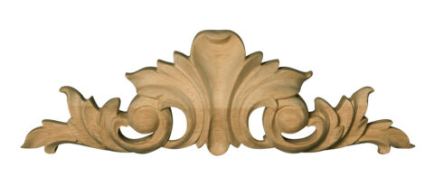 Covered Acanthus Leaf Pull