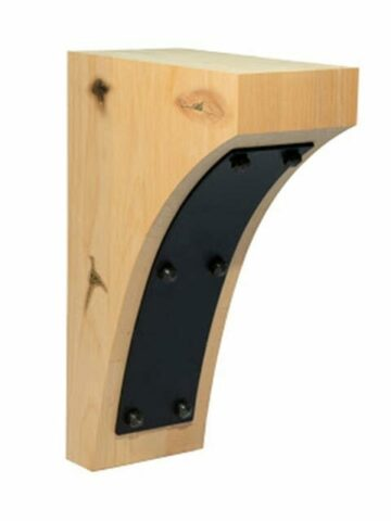 Curved Plate Corbel