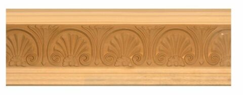 Decorative Shell Crown Moulding