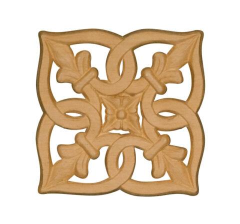 Embossed Square Ornament