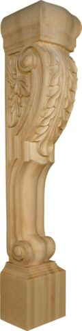 Extended Roman Island Height Corbel with Acanthus