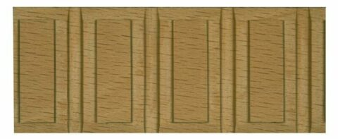 Flat Carved Panelled Moulding