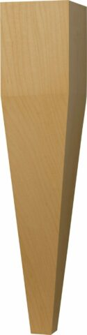 Four Sided Taper Coffee Table Leg
