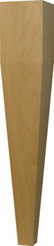 Four Sided Taper End Table Leg