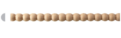 Half Round Pearl Beading (3ft stick)