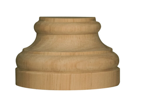 Large Traditional Half Round Plinth