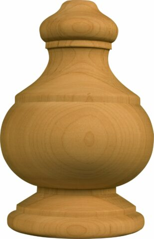 Lg. Traditional Half Round Finial