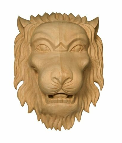 Medium Lion Head Onlay