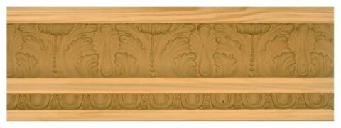 Modified Acanthus Leaf Crown Moulding