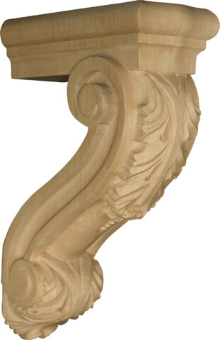Modified Bar Corbel with Acanthus Leaves