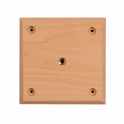 "Mounting Block Wood Plate 5 3/4"""