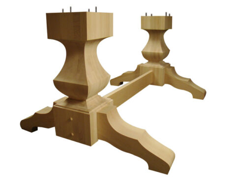 Old World Double Pedestal Kit