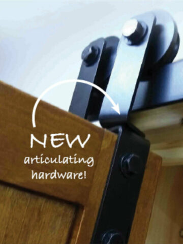 One Door Barnfold Hardware