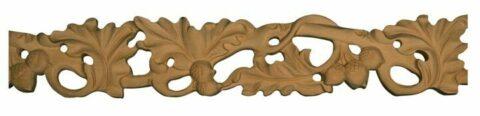 Pierced Acorn Moulding