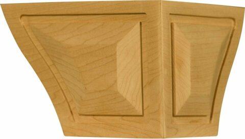 Raised Panel Corner Foot
