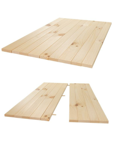 Rustic Plank Table Kit (6  Person Table)