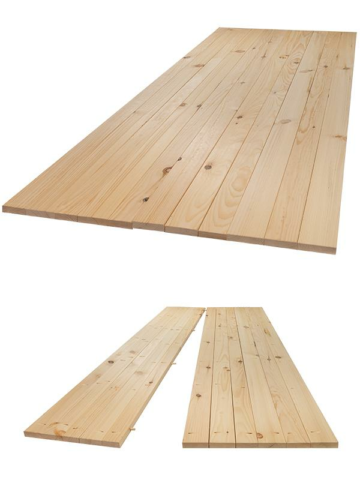Rustic Plank Table Kit (8 person table)