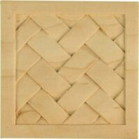 Small Basket Weave Block