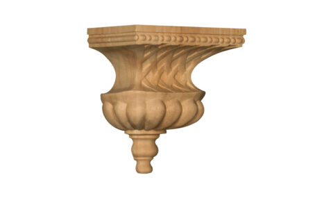 Small Bell with Basket Weave Corbel
