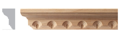 Small Cabinet Cove Moulding