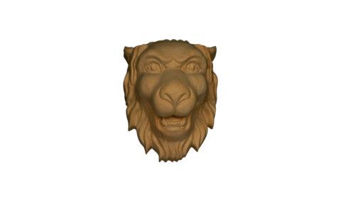 Small Lion Head Onlay