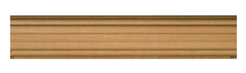 Small Reeded Half Round Moulding