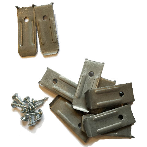 SOLD AS A SET OF TEN~Table Leaf Levelers with screws