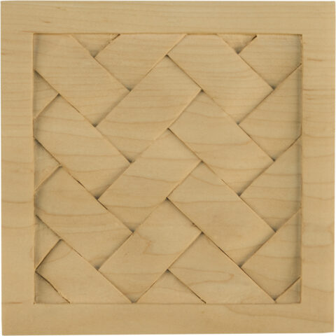 Square Basket Weave Onlay