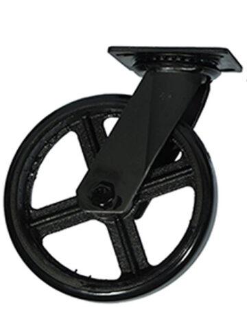 """Swivel Caster 8"""" Wheel"""