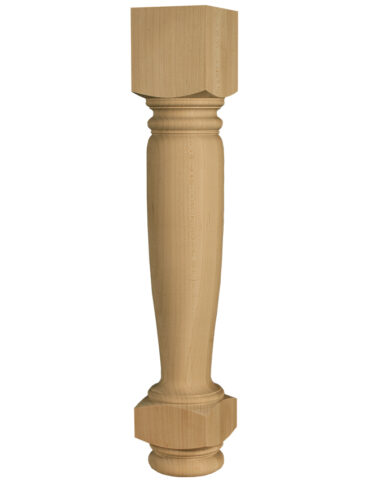 Traditional Dining Table Leg